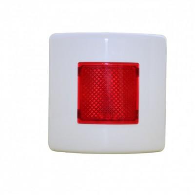 FDF I100 Bağımsız veya grup dedektör alarmları için optik led tekrarlayıcı